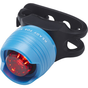 Cube RFR Diamond HQP Safety Lamp red LED, blue